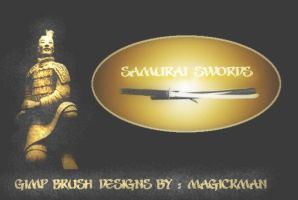 samurai swords 2 by blueeyedmagickman
