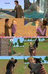 The Sims 2: My current sim OTP's by SnowxChan