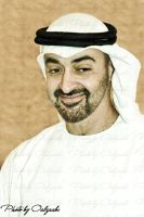 H.H sheik Mohamed Bin Zayed by alz3aabi