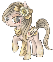 MLP Adoptable: Sunflower Pegasus {CLOSED} by Blesses
