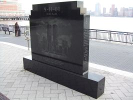 WTC Grand St memorial Jersey City NJ 3 by PaulRokicki