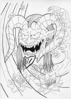 Oni-Demon Request. by Heavy-metal-ink