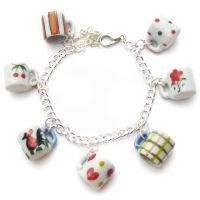 Dollhouse Mug Bracelet by fairy-cakes