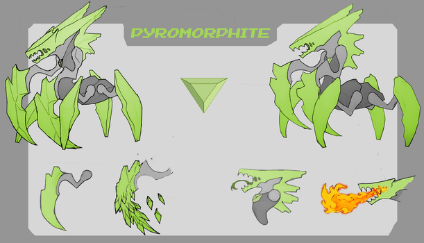 Pyromorphite by Wraether