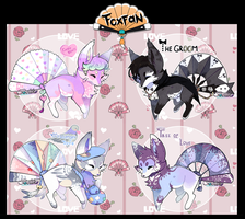 Happy Valentine Day foxfan/ AUCTION/ CLOSED by Belliko-art