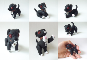 Chibi Toy Jointed Doll Commission: Dutchess by vonBorowsky