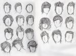 Hair Study- Males by Moon-Shyne