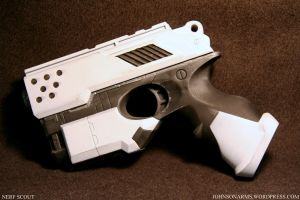Artic White Nerf Scout by JohnsonArms