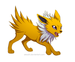 Jolteon by Akeahi