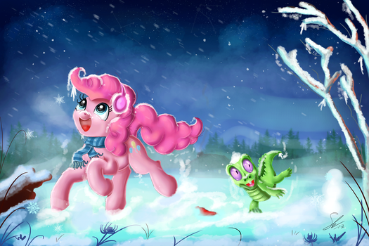 Fun in Snow by Shogundun