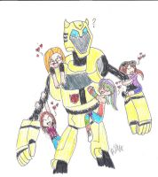 We love you Bumblebee by AJgirl