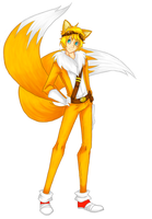 human! Tails Boom by TanyaWind