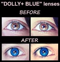 Dolly+ Blue lenses comparison. by Karinui