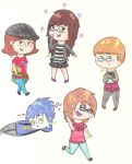 Chibis by TiasWorld