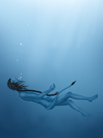 Drowning by Ekira-Txonite