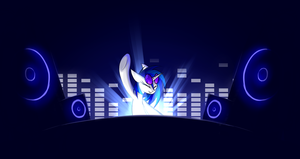 DJ Pon-3 by QueenBloodySky