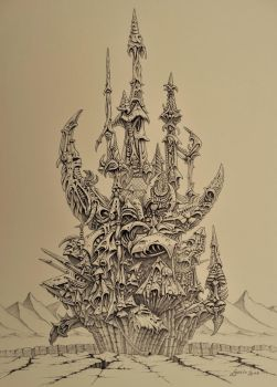 Castle of the DARK CRYSTAL by Skulpturen