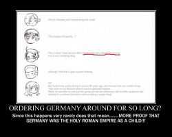 Hetalia Motivational Poster Germany is Holy Rome by Icefire149