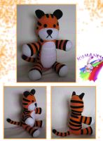 hobbes plushie by chocoloverx3
