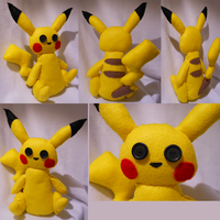 Pikachu ~For Sale~ by FuzzyAliens