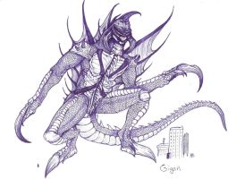 Gigan by ravage-eject
