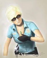 Cybil Covers Cleavage by vickiediablos
