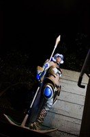 KOS-MOS F Scythe - by Jade by DISC-Photography