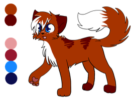 New Flame ref by Skycloud-Nya