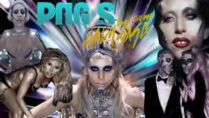 Born This Way Lady Gaga Pack Png by kozzmiqo