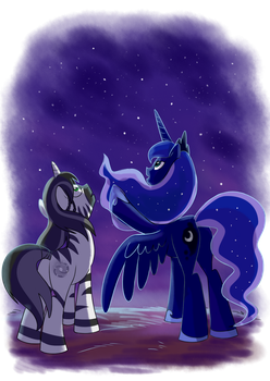 The astronomy lesson by Adlynh