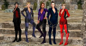 BSAA-BATTLESUIT-SQUAD by blw7920