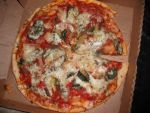 Anchovy, Spinach, and Pineapple Pizza by BrandedCharmer93