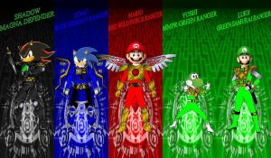 Anime Armored Rangers for Otakudanny by rangeranime