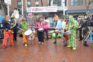 2014 Honk Festival, Music In the Square 16 by Miss-Tbones