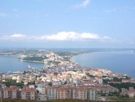General view of Sinop, Turkey by LittleTesla