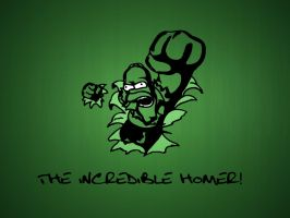 the incredible homer by akinom11