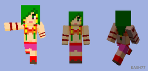 -Minecraft SKIN- FEENA by wRkash77