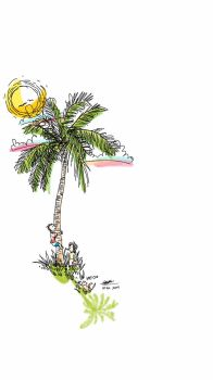 Coconut Tree Climbing by meteorbender