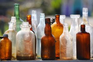 Antique Bottles by rscorp