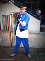 KOF Cosplay: Shingo by SawaKun