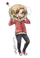 Prize: Chibi Canada by ThePuddingMonster