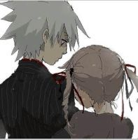 Soul and maka by thecheetahmeister