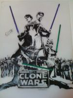 The Clone Wars by leungd