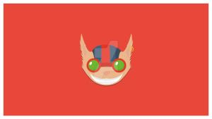 Ziggs Wallpaper Minimalist Flat Design by DemonzzDesigns