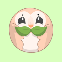 rowlet - #722 by pillowedcat