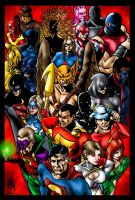 Justice Society by ericalannelson