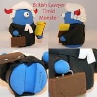 British Lawyer Timid Monster by TimidMonsters