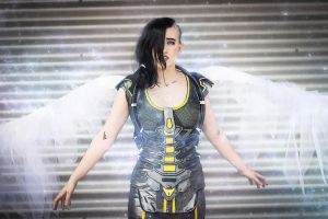 Angel - Borderlands 2 cosplay by MaryMustang01