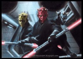Darth Maul legacy Star Wars 7 by FredrikEriksson1