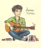 darren criss by supertay